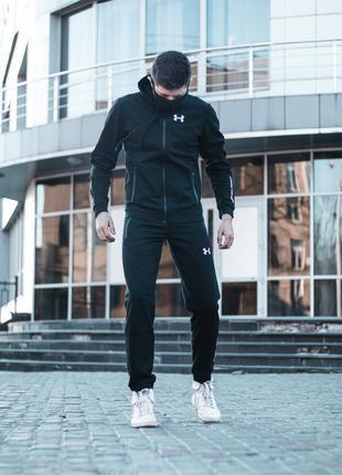 Спортивный костюм андер черный
