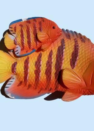 Рыбка – сувенирный керамический магнит на холодильник, 2006 (с...