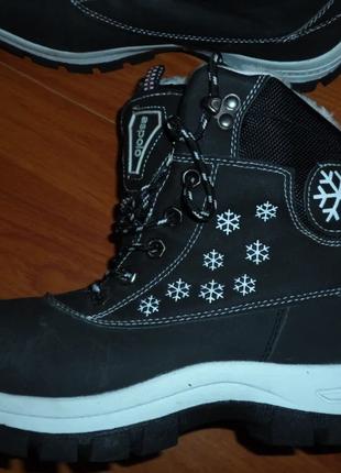 Ботинки женские Aspolo зимние 38 -черные