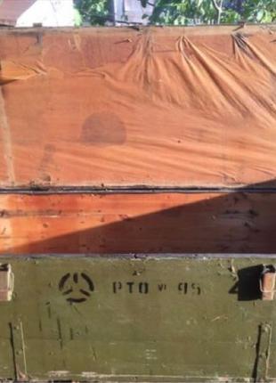 Ящик военный для инструмента и инвентаря
