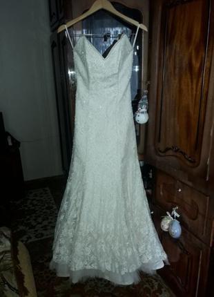Свадебное платье. Размер 40-42