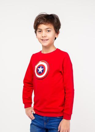 Стильный фирменный свитшот свитер джемпер