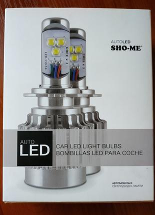 Светодиодные лампы Sho Me G1.1 H1 6000K 30W (LED лампы)