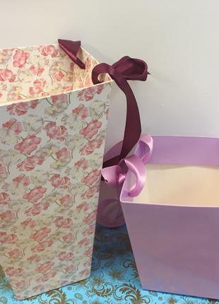 Коробки для цветов трапеции