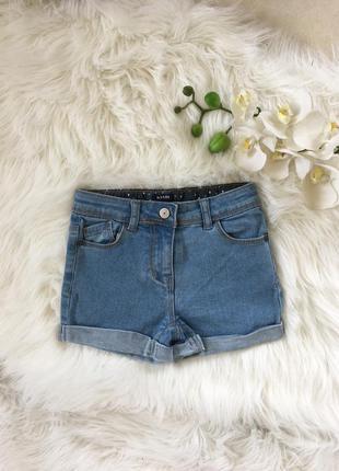 Новые джинсовые шорты для девочки 5-6 лет