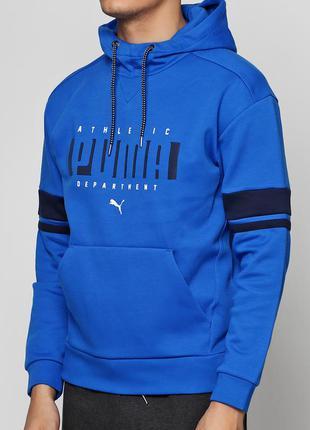 Толстовка puma athletic hoody размер хl 56