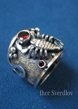 """Кольцо - перстень """"скорпион"""""""