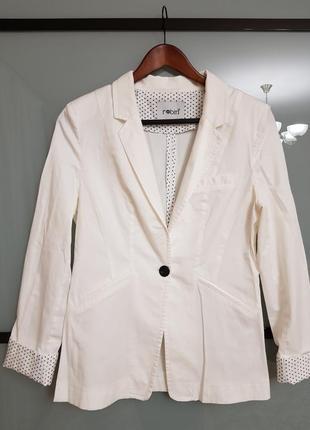 Летний коттоновый  пиджак