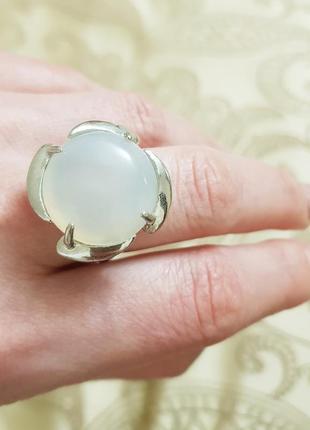 Кольцо с натуральным камнем