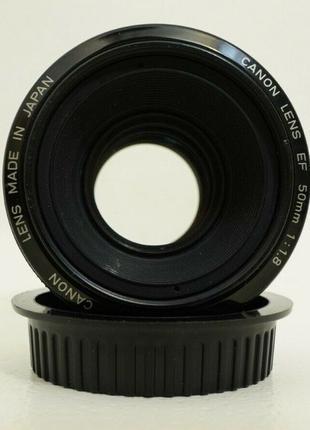 Объектив Canon 50mm F1.8 IGen первое поколение металлический б...