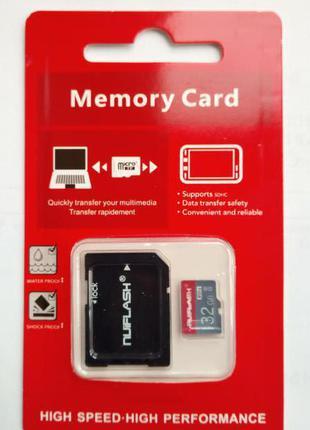 Карты памяти microSD 32Gb
