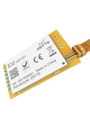 LoRa E32-868T30D SX1276 868МГц UART радиомодуль большой дальности