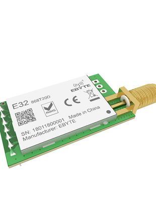 Радиомодуль LoRa E32-868T20D SX1276 868МГц UART IoT