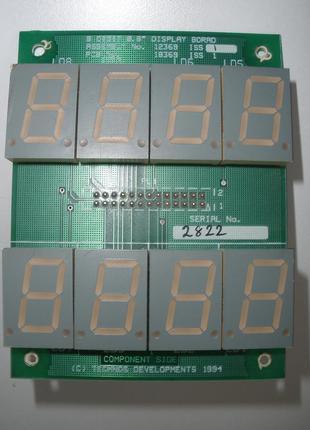 Светодиодный индикатор LSD8154-20 часы таймер
