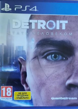Игра на PS4 Detroit