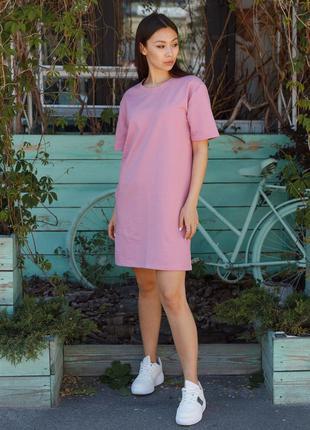 Платье футболка тур sarina pink