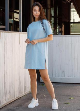 Платье футболка тур sarina blue