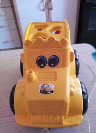 Машинка трактор дитячий