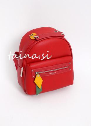 Актуальный городской рюкзак красный david jones cm5624t оригин...