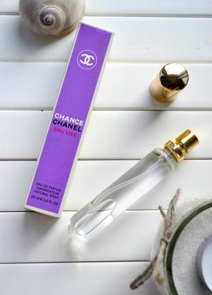 Chanel chance eau vive пробник 20 мл,парфюмерная вода,парфюм, ...