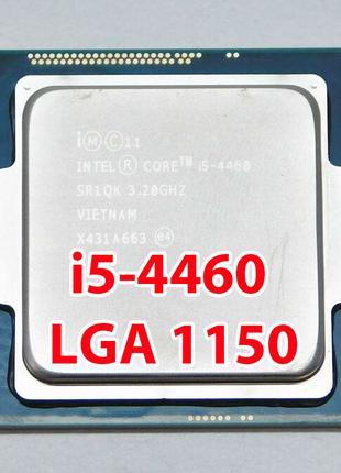 Процессор Intel Core i5-4460 LGA1150 (SR1QK) 4 ядра 3.20-3.40Ghz