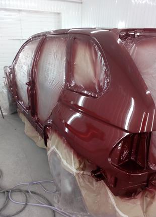 Покраска авто (легковые и бусы), полировка, ремонт пластика.