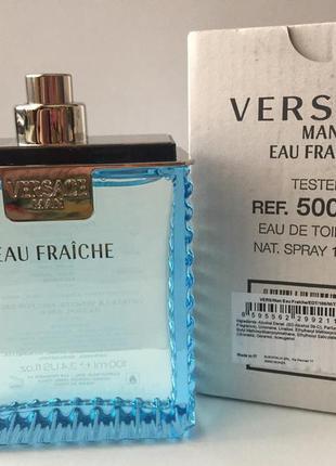 Versace man eau fraiche туалетная вода тестер 100 мл. италия. ...