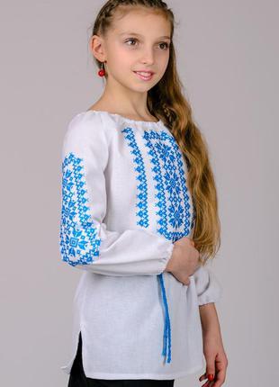 Вишиванка дівчача, вышиванка сорочка детская