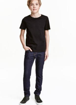 Джинсы skinny fit h&m на 12-13 лет, 158 рост.