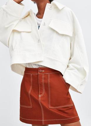 Новая стильная юбка от zara