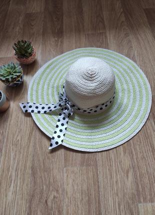 Классная шляпа пляжная/ летняя шляпа