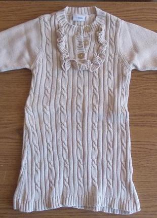 Платье 3-4 года, коттон