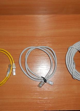 Интернет кабель, витая пара, сетевой патч корд, шнур для роутера