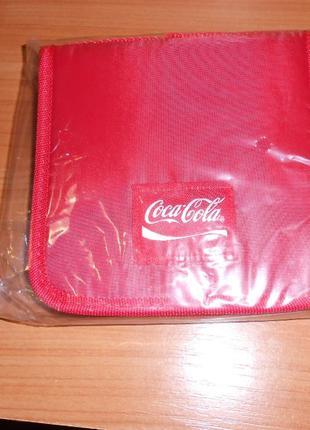 Сумки новые Coca Cola на 12 CD компакт дисков