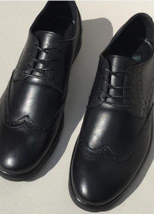 Oxford мужские кожаные туфли броги оксфорд