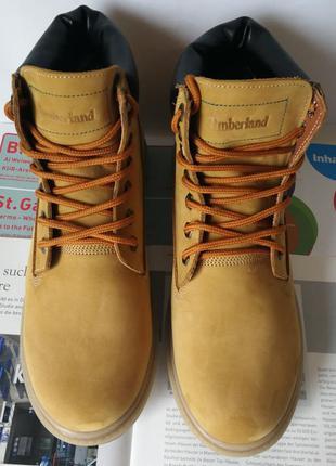 Супер timberland ! мужские зимние ботинки тимберленд кожа мех ...