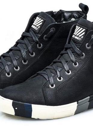 Off-white мужские зимние ботинки в спортивном стиле натуральна...