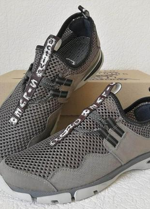 Silver active мужские летние кожаные туфли кроссовки сетка лег...