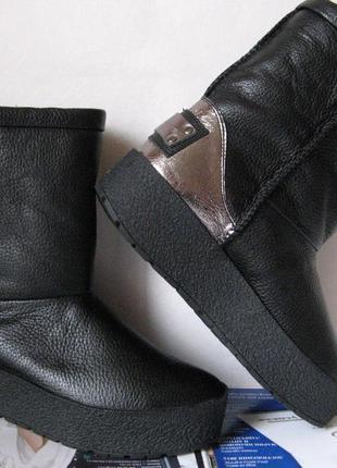 Зимние женские теплые угги ! сапоги  уги взуття  кожа