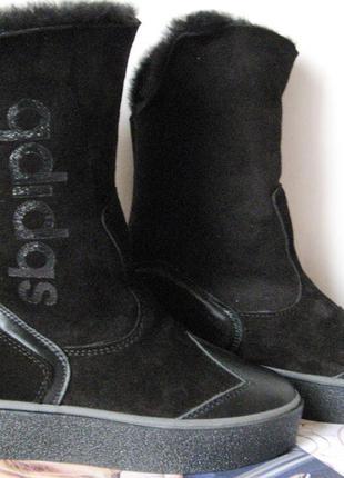 Зима2019 женские зимние угги сапоги натуральная овчина ботинки...