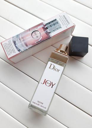 Dior joy by dior тестер 40 мл, мини-парфюмерия, парфюм, парфюм...