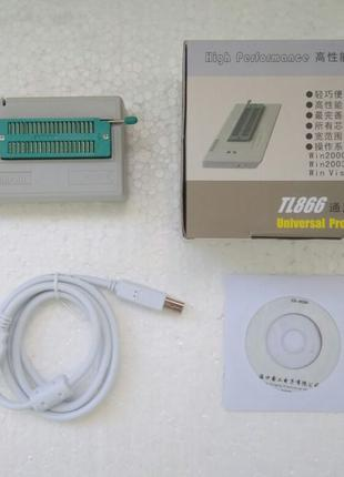 USB программатор MiniPro TL866CS, EEPROM, FLASH v.8.30