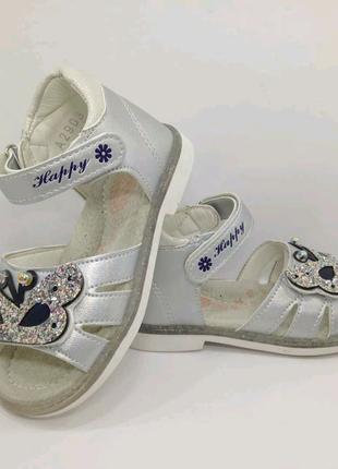 Босоножки, сандали для девочки  23 размера