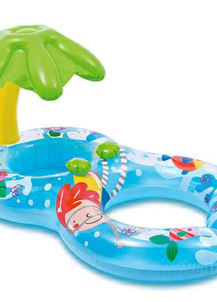 Надувной плотик для мамы и ребенка