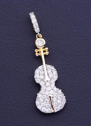 Кулон 'xuping' фианит (позолота/родий)0883540