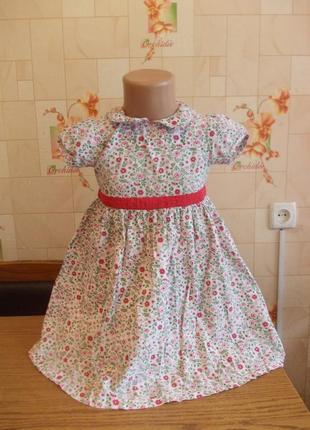 Платье 2-3 года, jojo maman bebe