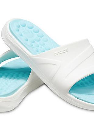 Crocs reviva slide шлёпанцы крокс