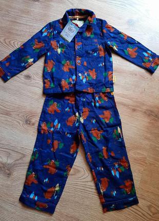 Теплая пижама для мальчика tu