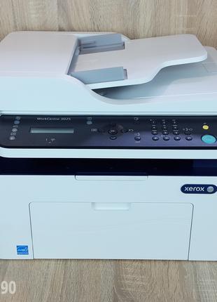 Xerox WorkCentre 3025 Практически новое мфу с WI-Fi. 7500 пробег.