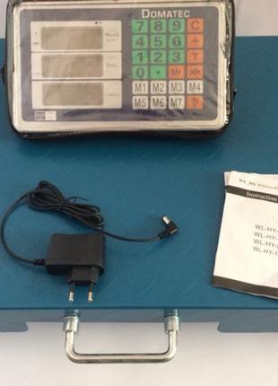 Продам весы напольные Wi-Fi беспроводные 350 кг. платформа 45*...